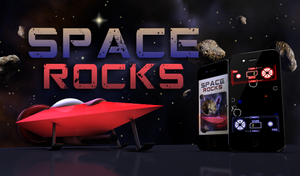 SPACE ROCKS App Ad by kapdesign