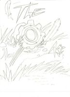 The New Age Cover Title Rough Sketch by Brokenwingsoflight