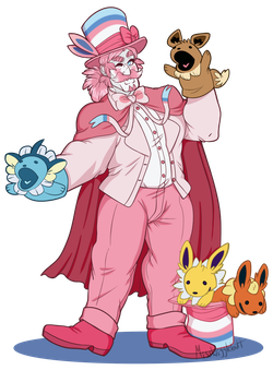 Orson Sylvain the Sylveon by MissWiggleButt