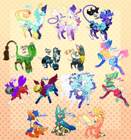 {auction} - Super Huge Collaborama x 4 (closed) by PhloxeButt