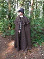 Dickens-Victorian cape 2 by JanuaryGuest