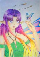 Colorful elf by Light-Lein