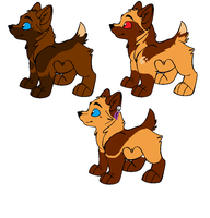 Pups for St-Zhavouras by wolf-wishes