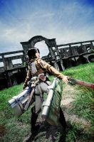 Mikasa Ackerman: Stronger than all of you by kuricurry