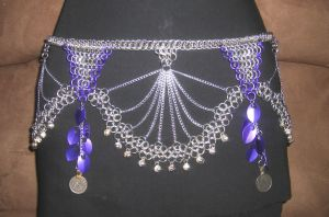 Cathedral Chimes Dance Belt by enchantress13