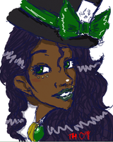 iScribble - The Mad Hatter by MissSweet77