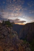 Black Canyon Sunrise by jerryhazard