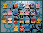 Scrabble Charms - POKEMON by MandyPandaa