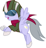 Thunder  Mare : The Justice Pony by biel56789