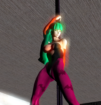 REBEL YELL: sexy Morrigan 4 by luiboy20