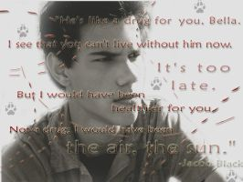Jacob Black wallpaper by ambiwambi