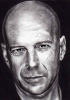 Bruce Willis by shonechacko