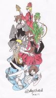 Hetalia in Wonderland by Spiegeln