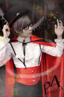Persona4 the Golden- Yu Narukami (Halloween ver) by GGN49