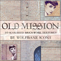 Old Mission Icon Textures by jordannamorgan