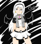 Contest Entry, Bell the Dark Warrior Z by XxStrawberryQueenxX