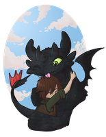 How to train your dragon by Morthern