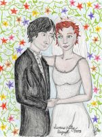 The Wedding: Severus and Lily by sindie11