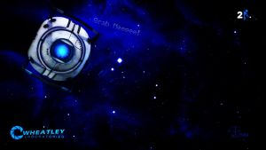 Wheatley Wallpaper Portal 2 by PinguAlex