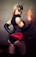 Ms. Marvel - Cosplay Shoot by TREXMAN