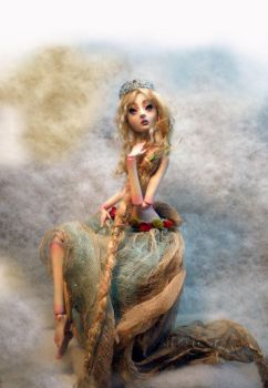 Rapunzel with an attitude by cdlitestudio