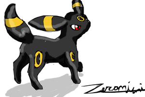 Crappy crap umbreon pokemon by ZeroMiami