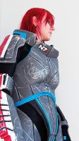 Cosplay - Shepard by tiikay