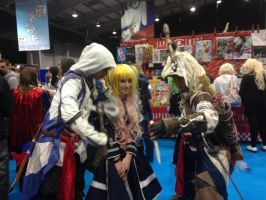 Siany and Assassins Creed by QuackersQ