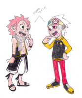 What Natsu and Soul have in common... by FlashnTails