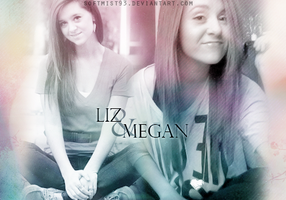 Megan And Liz Graphic by softmist93