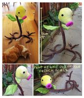 Life sized posable Bellsprout
