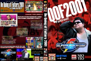 The King of Fighters 2001 - Live Action DVD by MartiEscageda