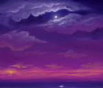 Sky speedpaint by BellaCielo