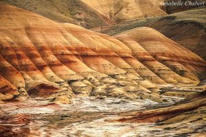 Painted Hills by Annabelle-Chabert