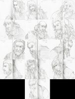 The Hobbit - The Dwarves by XMenouX