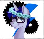 Blitz's flower crown by Drawing-Heart