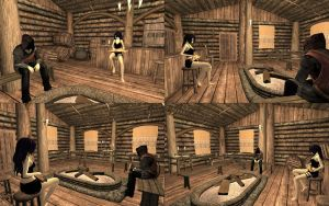 [MMD] Thousand Arrows inn [OUTDATED] by Wampa842