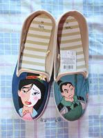 My first shoes painted by Eingel91