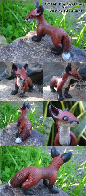 Red Fox - Commission by Ilenora