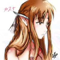 Yuuki Asuna Fairy Colored SAO by guto-strife-1
