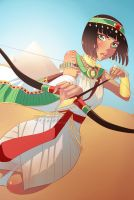 Time Warriors - Egyptian Archer by rika-dono