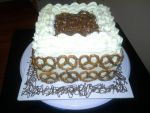 Yellow Cake w/ White Choc. Buttercream by Fycrixe