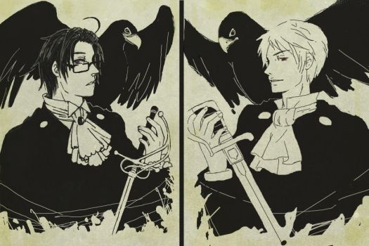 -APH- Austria and Prussia by Zeras-art