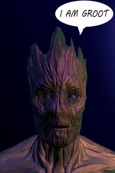 Groot - Guardians of the Galaxy by PersianArcher