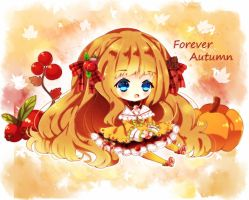 Forvever Autumn SPEEDPAINT by Maruuki