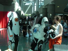 Portal Cosplay 2 AX 2011 by MidnightLiger0