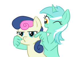 I CAN PINCH YOUR CHEEKS by cheryl-jum