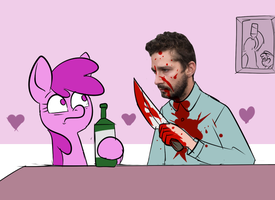 Berry meets Shia LeBeouf by Metal-Kitty