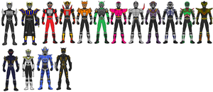 Kamen Rider Ryuki: 15 Advents by Zeltrax987