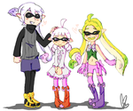 Inkling Family by SparxPunx